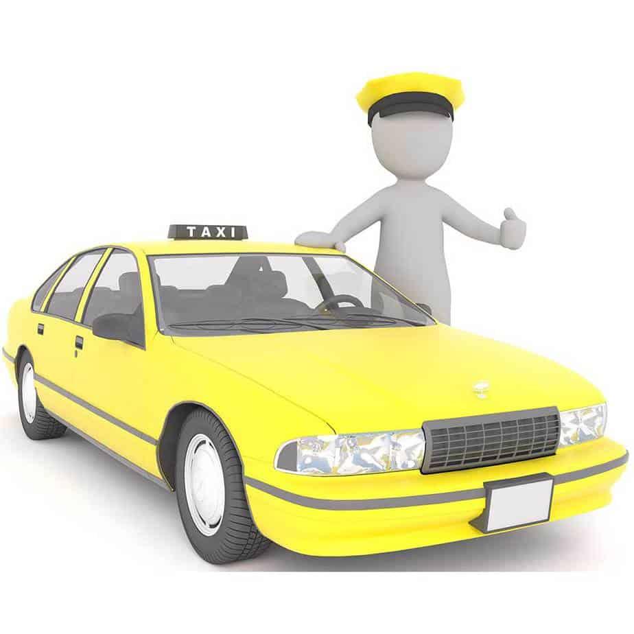 sanificare taxi