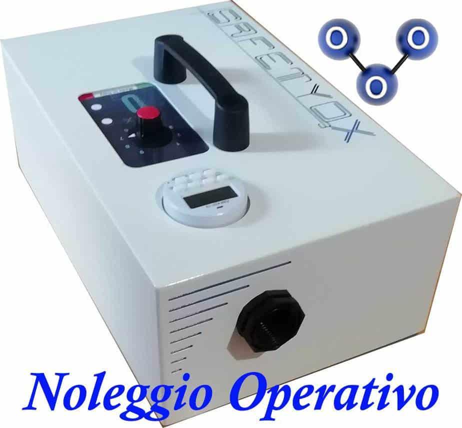 generatori di ozono noleggio Carpi